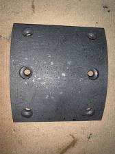 Накладка тормозная FOTON ФОТОН 1099 130 мм сверлен. 55х90 (без асбеста)